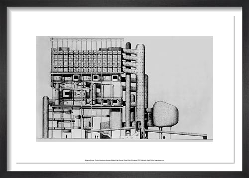 Furniture Manufactures Association Building for High Wycombe by Archigram