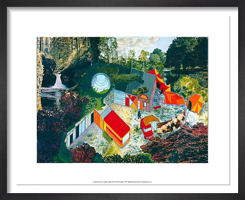 Hedgerow Village by Archigram