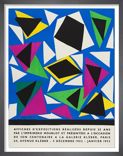 Exposition D'Affiches, 1952 by Henri Matisse