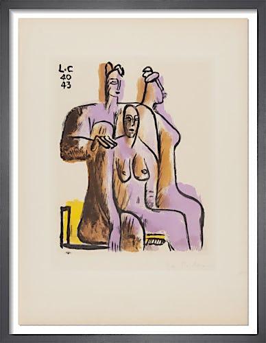 Trois Personnage Assis, 1950 by Le Corbusier