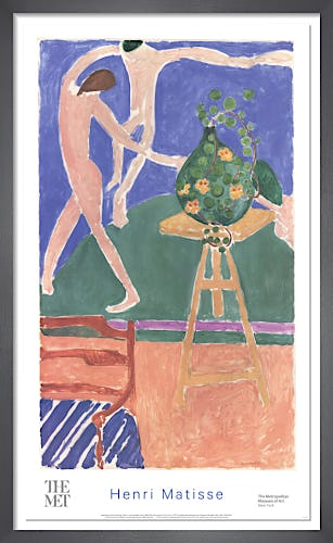 Nasturtiums with the Painting 'Danse' by Henri Matisse