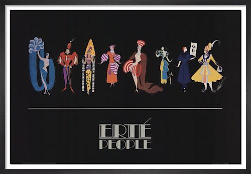 Fashion People by Erte
