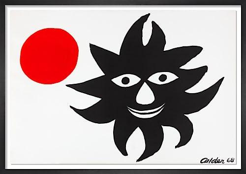 Sun and Moon, 1968 by Alexander Calder