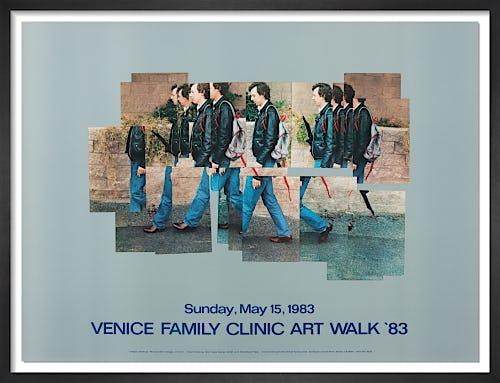 Gregory Walking 1983 by David Hockney