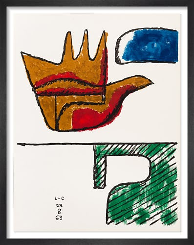 The Open Hand, 1963 by Le Corbusier