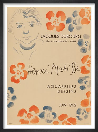 Jacques Dubourg, 1962 by Henri Matisse