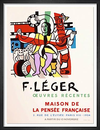Maison de la Pensee Francaise, 1954 by Fernand Leger