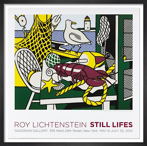 Cape Cod Still Life II (1973) by Roy Lichtenstein