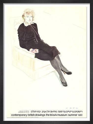 Celia, Paris (1980) by David Hockney