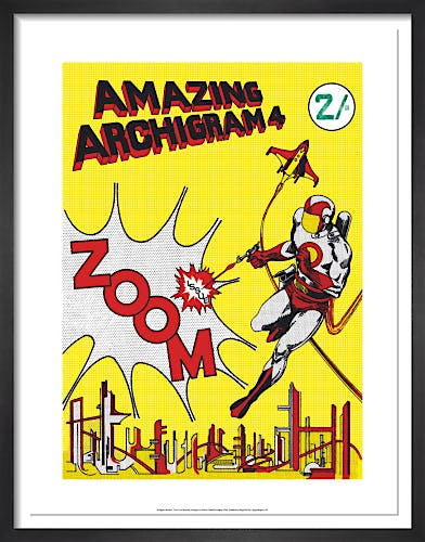 Front cover illustration, Archigram 4 by Archigram
