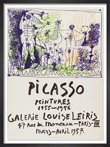 Galerie Louise Leiris, 1957 by Pablo Picasso