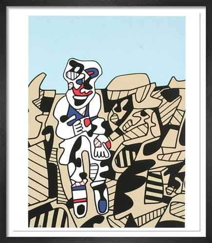Inspection of the Territory (1974) by Jean Dubuffet