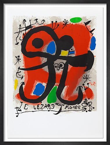 Les lezard aux plumes d'or, 1991 by Joan Miro