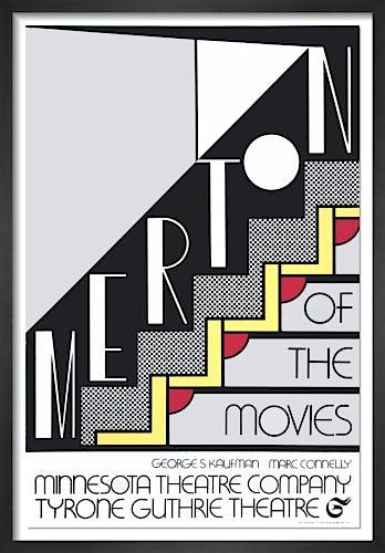 Merton of The Movies (1968) by Roy Lichtenstein