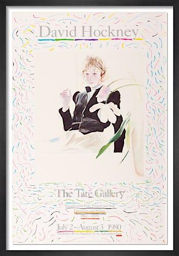Tate Gallery 1980 by David Hockney