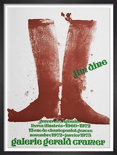 Galerie Gerald Cramer 1973 by Jim Dine