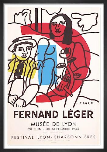 La Parade, Musee de Lyon, 1955 by Fernand Leger
