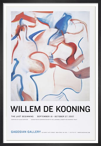 No title (1983) by Willem de Kooning