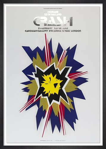 Explosion II (1965) by Roy Lichtenstein