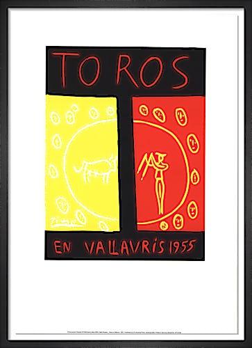 Toros En Vallauris by Pablo Picasso