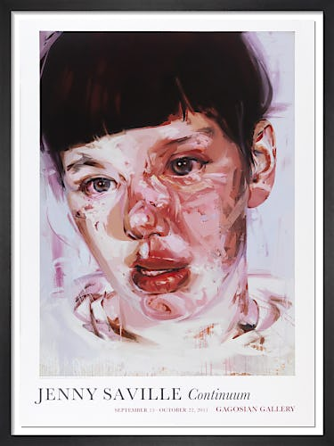 Red Stare Head IV (2006-11) by Jenny Saville