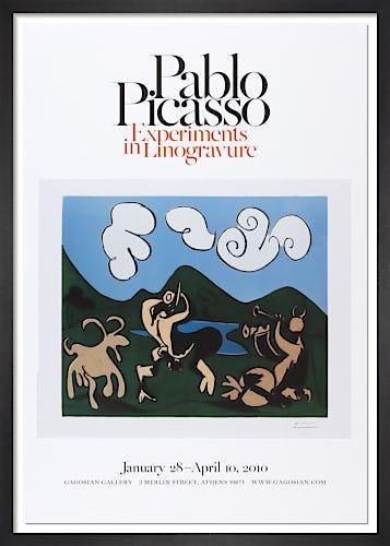 Faunes et chevre (1959) by Pablo Picasso