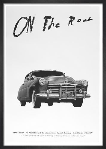 On the Road: An Artist Book of the Classic Novel by Jack Kerouac (Poster B) by Ed Ruscha