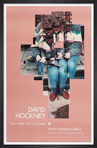Gregory Loading his Camera 1983 by David Hockney
