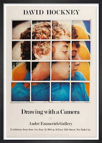 Drawing with a Camera 1982 by David Hockney