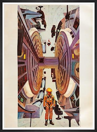 2001: A Space Odyssey (1968) by Vintage Kubrick