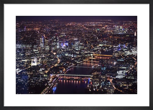 Aerial View of London, 2015 by PA Images