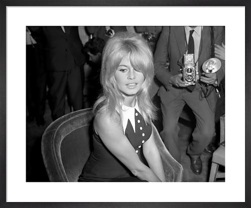 Brigitte Bardot, 1963 by PA Images