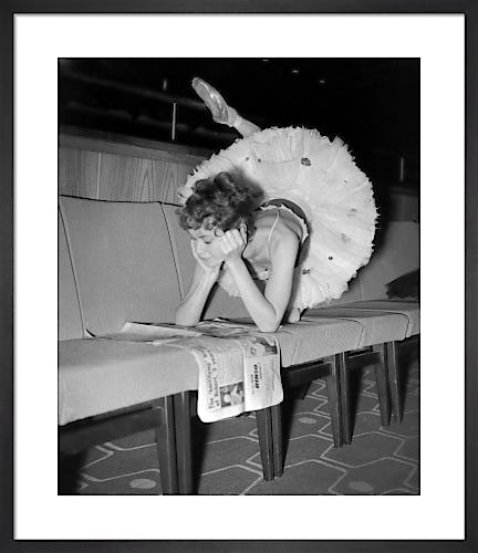 Ballet Rehearsals, 1952 by PA Images