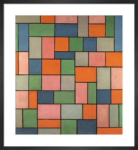 Composition In Dissonance by Theo van Doesburg