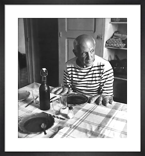 Les Pains de Picasso, Vallauris 1952 (1998) by Robert Doisneau
