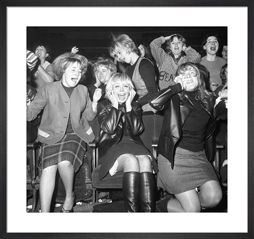 Beatles Concert, 1963 by PA Images