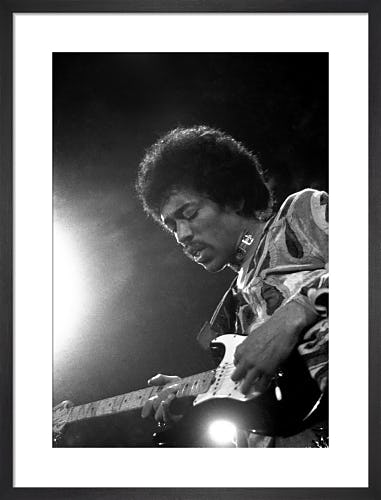 Jimi Hendrix, 1970 by PA Images