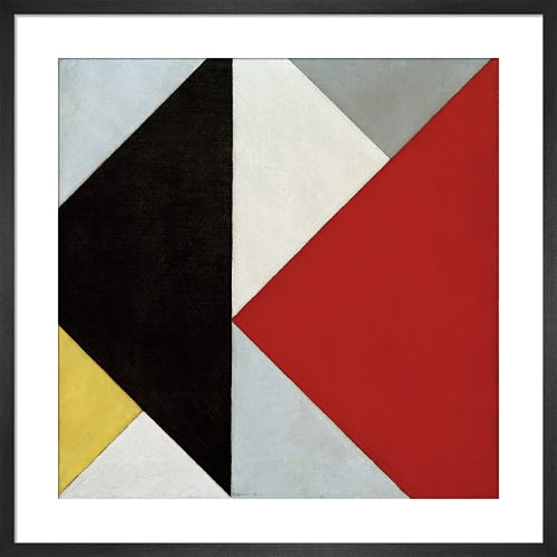 Contra-Compositie XIII by Theo van Doesburg
