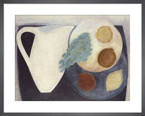 Jug with Pomegranate, Lemons and Grapes by Vivienne Williams