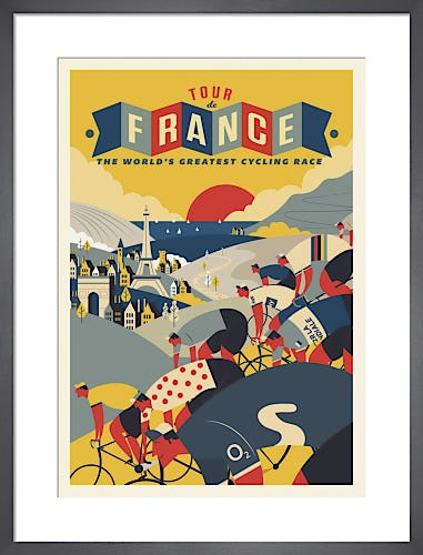 Tour de France by Neil Stevens