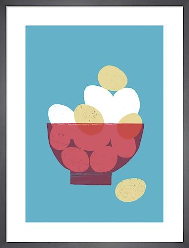 Eggs in a Bowl by Ana Zaja Petrak