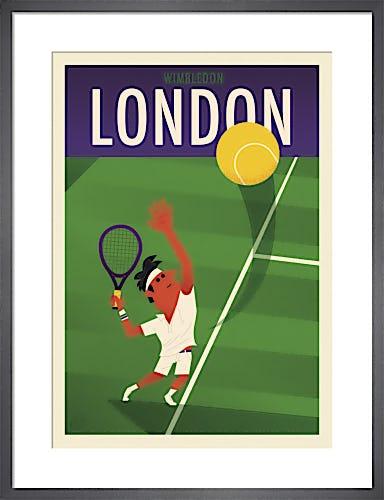 Wimbledon I by Spencer Wilson