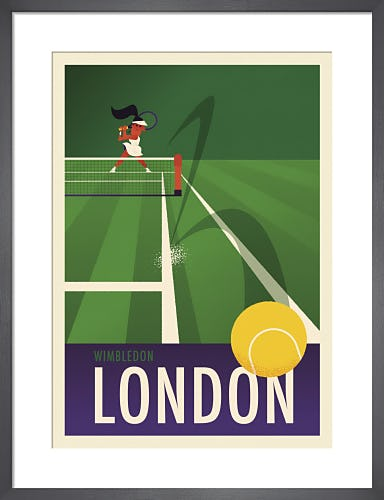 Wimbledon II by Spencer Wilson