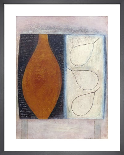 Flask with Three Pears by Vivienne Williams