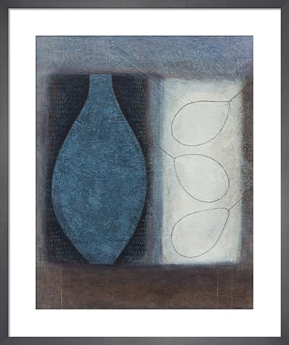 Blue Flask with Three Pears by Vivienne Williams