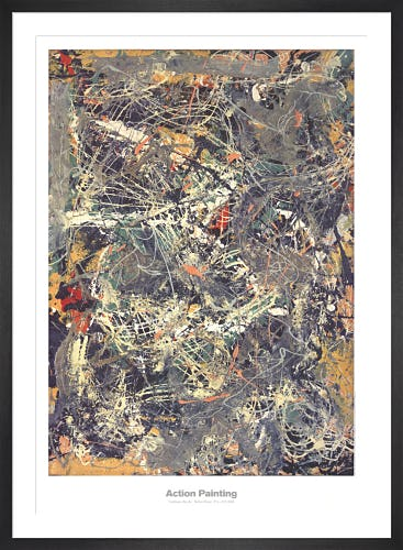 Untitled 1949 by Jackson Pollock