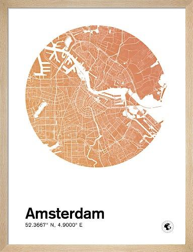 Amsterdam by MMC Maps