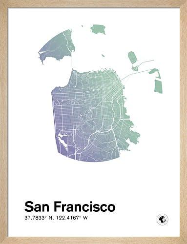 San Francisco by MMC Maps