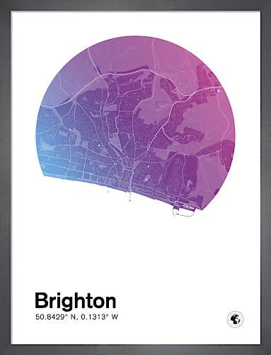 Brighton by MMC Maps