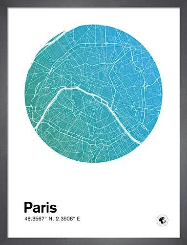 Paris by MMC Maps